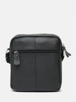 Чоловіча сумка шкіряна Laras K108016a Чорна (ROZ6400030434)