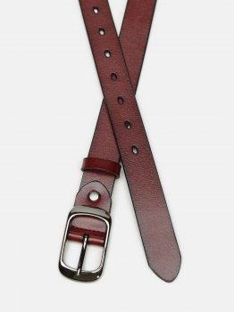 Женский кожаный ремень Laras CV10ZK-008-brown Коричневый (ROZ6400031917)