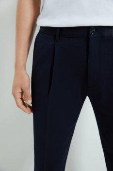 Брюки Zara черные классические зауженные демисезонные
