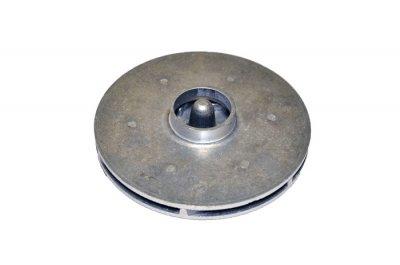 Крильчатка (робоче колесо) для насоса БЦН 1.6, d130, плоска з гайкою