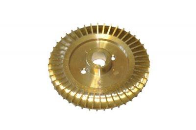 Крильчатка (робоче колесо) для насоса, латунна d=12/78, шпонка