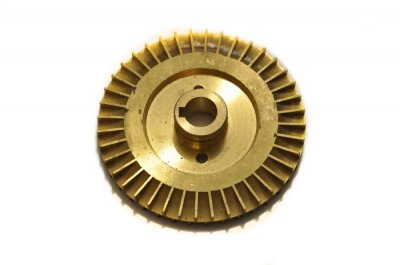 Крильчатка (робоче колесо) для насоса, латунна d=12/71, шпонка