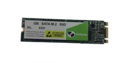 Накопитель SSD 250GB Mediamax M.2 2280 SATAIII 3D NAND TLC (WL 250 SSD M.2) Refurbished наработка до 1%