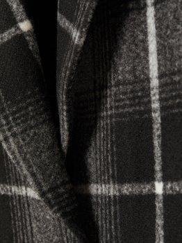 Пальто H&M 6786048 Темно-серое