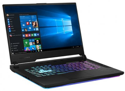 Ноутбук Asus ROG Strix G15 G512LU-RS74 Black Б/У