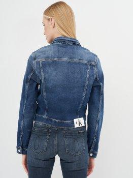 Джинсовая куртка Calvin Klein Jeans Cropped 90'S Denim Jacket J20J215381-1BJ Denim Dark