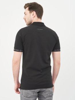 Поло Calvin Klein Jeans Logo Jacquard Polo J30J317283-BEH Black