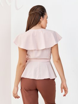 Блузка ISSA PLUS 12045 Розовая