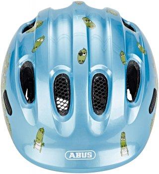 Велосипедный детский шлем ABUS SMILEY 2.0 Blue Croco M (50-55 см) (725777)