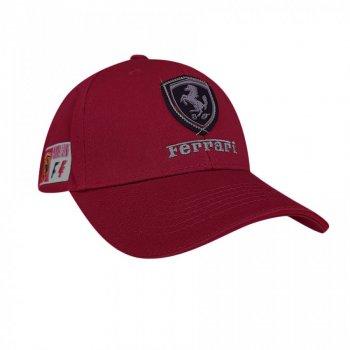 Кепка Феррари Sport Line 6745 57-60 цвет бордовый