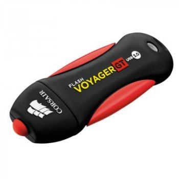 USB флеш накопичувач CORSAIR 512GB Voyager GT Black USB 3.0 (CMFVYGT3C-512GB)