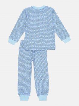 Пижама Interkids Звездочка 2980 Голубая