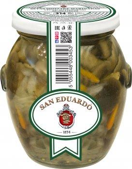 Грузди San Eduardo маринованные деликатесные 314 мл (5055448003453)
