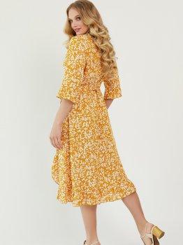 Платье Miledi Фанта 101402 Горчичное