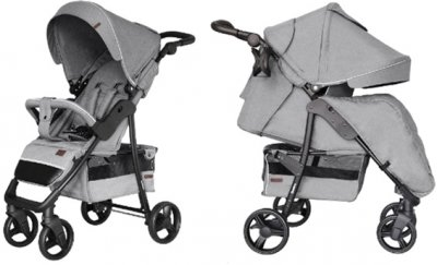 Прогулянкова коляска Carrello Quattro CRL-8502/3 + москітна сітка Shark Grey (CRL-8502/3 + M shark grey)