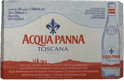 Упаковка минеральной негазированной воды Acqua Panna 0.5 л х 24 бутылки (8008153046236)