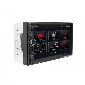 """Автомагнітола 7"""" Lesko 7021G з GPS навігатором сенсорний екран Windows Bluetooth USB FM радіо пульт ДУ"""