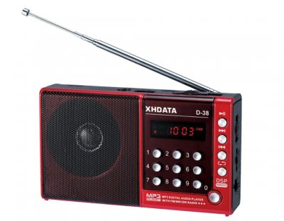 Цифровий радіоприймач XHDATA D-38 DSP