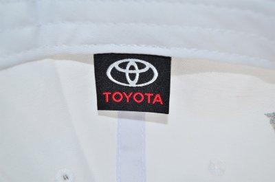 Кепка Sport Line c автомобильным логотипом Toyota белая (S 0919-126)