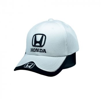 Кепка Sport Line c автомобильным логотипом Honda белая (S 0919-470)