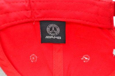 Кепка Sport Line c автомобильным логотипом Mercedes-Benz красная (S 0919-178)