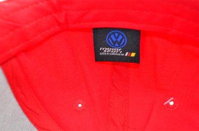 Кепка Sport Line c автомобильным логотипом Volkswagen красная (S 0919-122)