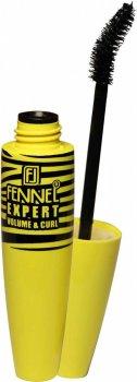 Туш Fennel Expert Volume&Curl Чорна об'єм + вигин класичний пензель (8858229050373)