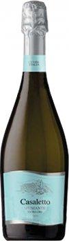 Вино игристое Casaletto Spumante Bianco белое экстра сухое 0.75 л 10% (8008900009408)