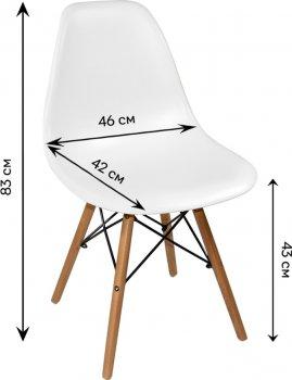 Набір стільців Signal Enzo 4 шт. White (ENZO4)