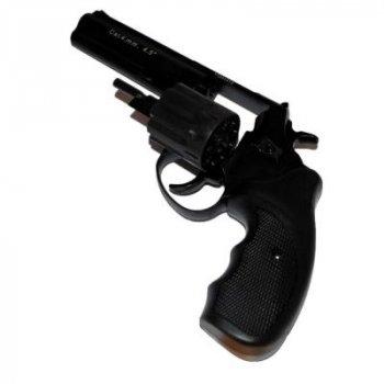 """Револьвер під патрон Флобера STALKER 4.5"""" чорний (ST45S)"""