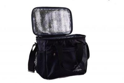 Термо сумка Dolphin чорна для їжі, напоїв.