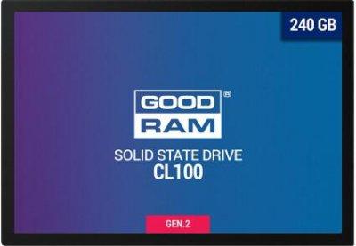 """Накопичувач SSD GoodRam Sata 2.5"""" 240Gb (SSDPR-CL100-240-G3)"""