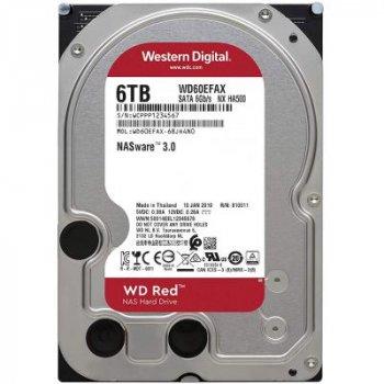 """Жорсткий диск 3.5"""" 6TB Western Digital (WD60EFAX)"""
