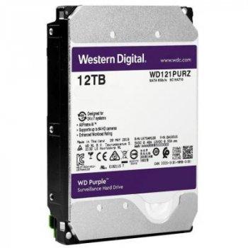 """Жорсткий диск 3.5"""" 12TB Western Digital (WD121PURZ)"""