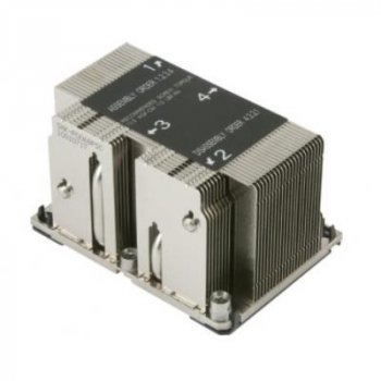Кулер для процесора Supermicro SNK-P0068PSC/LGA3647/2U Passive (SNK-P0068PSC)