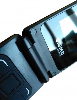 Мобильный телефон Sigma mobile X-style 241 Snap Black (4827798524718) (355239077059520) - Уценка