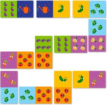 Настільна гра DoDo Доміно Овочі (300249) (4820198241841)