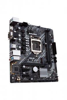 Материнcкая плата ASUS PRIME_H410M-K s1200 H410 2xDDR4 DVI-VGA mATX