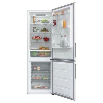 Холодильник с нижн. мороз. камерой CANDY CVBNM6182WP/SN, 186х60х60см, 2 дв., Х- 231л, М- 87л, A+, NF, Белый