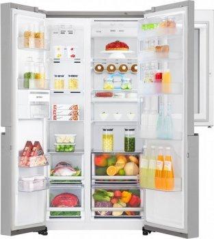Холодильник LG GC-Q247CADC SbS Door in door/179 см/626 л/А+/Total No Frost/лін. компр./нерж. сталь