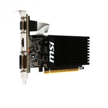 Видеокарта MSI GeForce GT710 2GB DDR3 64bit low profile silent