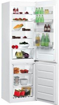 Холодильник с нижн. мороз. камерой Indesit LI9S1QW, 200х66х60см, 2 дв., Х- 258л, М- 111л, A+, ST, Белый