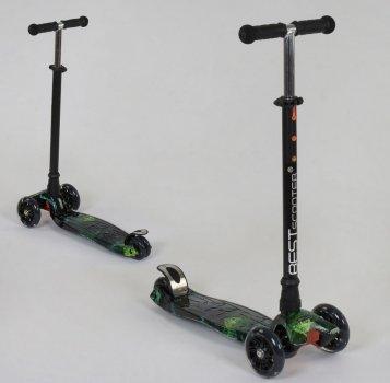 Scooter BEST Maxi Graffics (Зелена Блискавка) (2T1047)