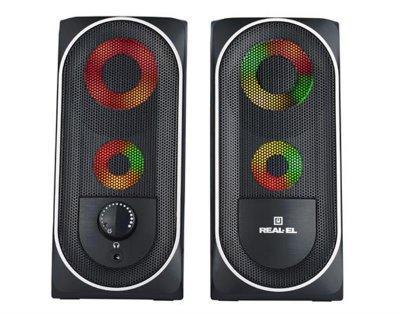 Акустична система REAL-EL S-110 Black UAH