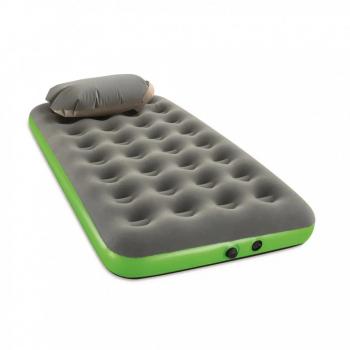 Надувной матрас велюр с подушкой Bestway 67619