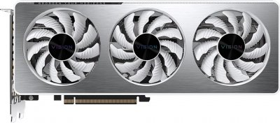 Gigabyte PCI-Ex GeForce RTX 3060 Vision OC 12G 12GB GDDR6 (192bit) (15000) (2 х HDMI, 2 x DisplayPort) (GV-N3060VISION OC-12GD + Z390 D + P650B)
