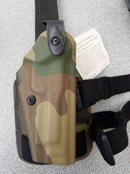 Полимерная кобура Safariland SLS Tactical Holster 6004-73 Beretta 92 1603 Woodland