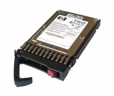 """Жесткий диск для сервера HP 146.8ГБ 10000RPM 16МБ SAS 2.5"""" Черный (418367-B21)"""