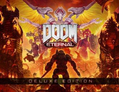 Игра DOOM Eternal Deluxe Edition (PC) (Ключ активации Steam)