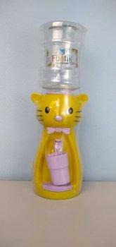 Детский кулер для воды Фунтик Котики желтый